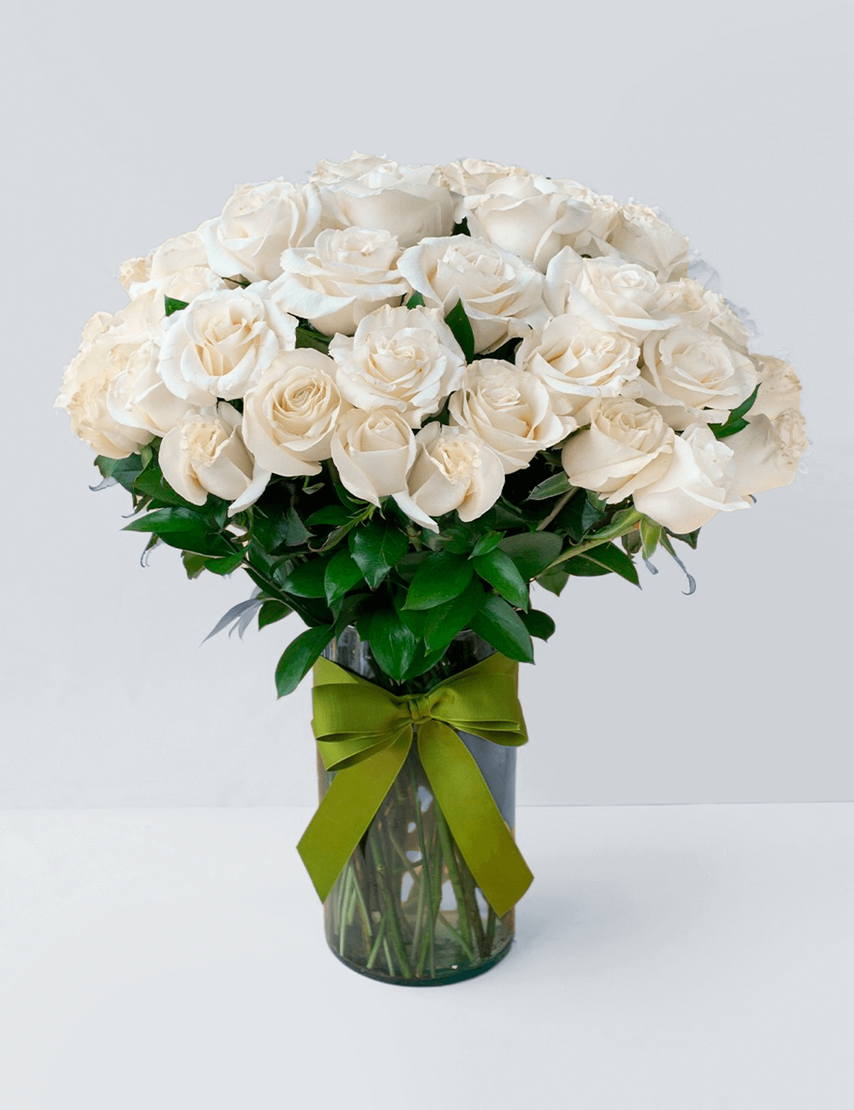 50 Rosas Brancas